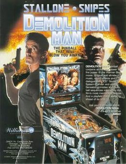 Demolition Man Cartel Pinball