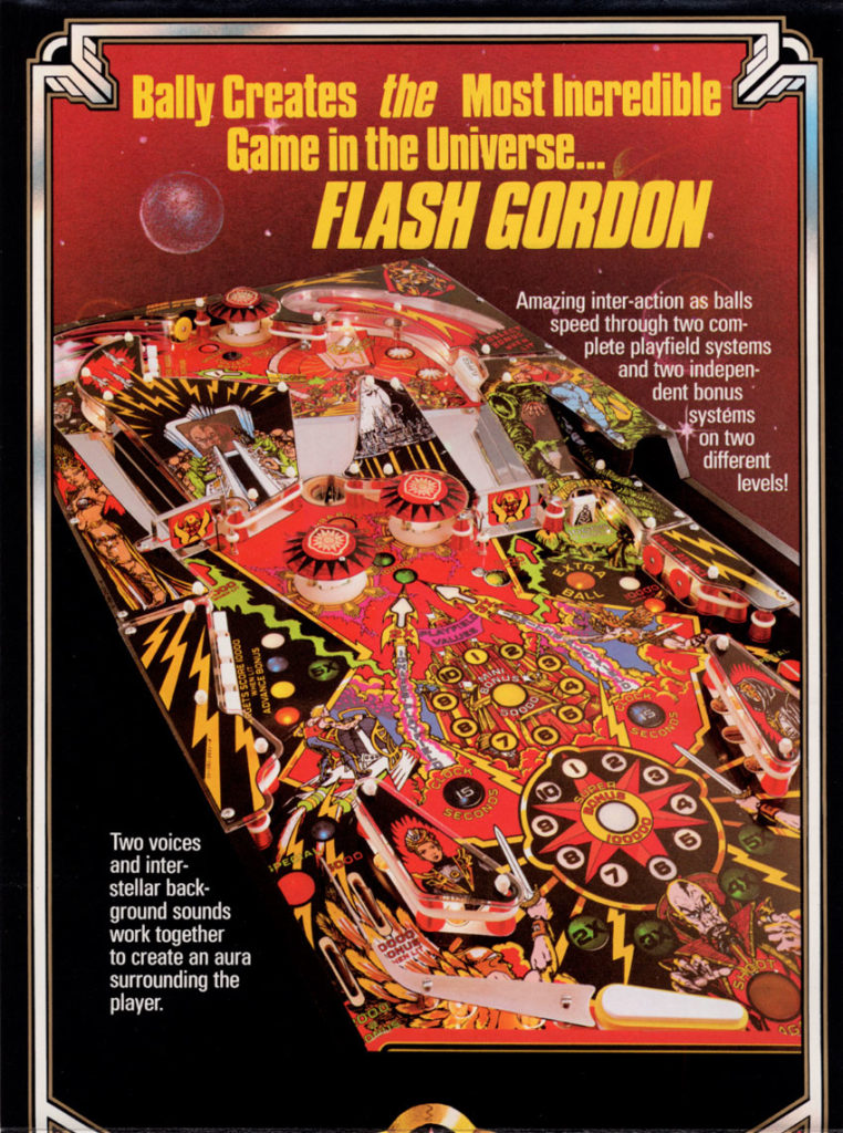 Flash Gordon Cartel pinball
